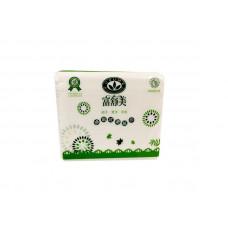 單抽面紙  (富)  (300抽)-綠色 105*195mm雙層