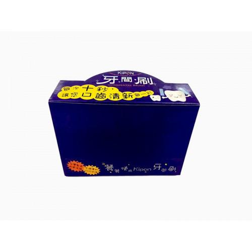 牙間刷展示紙彩盒(12卡贈1個)※未滿12卡須自購